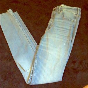 Hollister super skinny high rise jeans 3R women